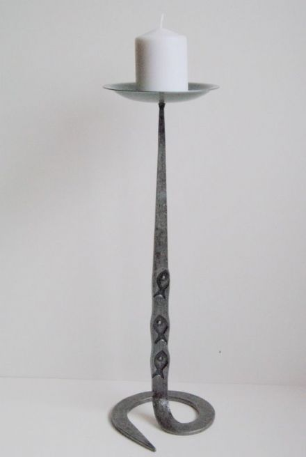 Belltrees Forge Candlestick Fish